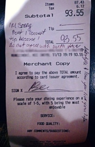 no tip because your gay