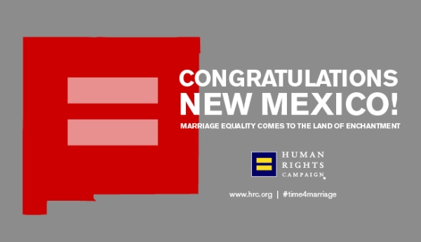 Marriage equality in New Mexico